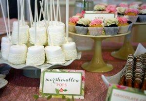 Custom Wedding Shower Dessert Table Franklin Lakes, NJ