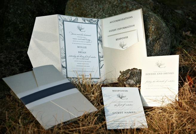 custom-wedding-invitations-nj-gold-blue-white