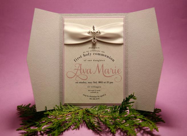 custom_invitations_nj_pink_first_communion